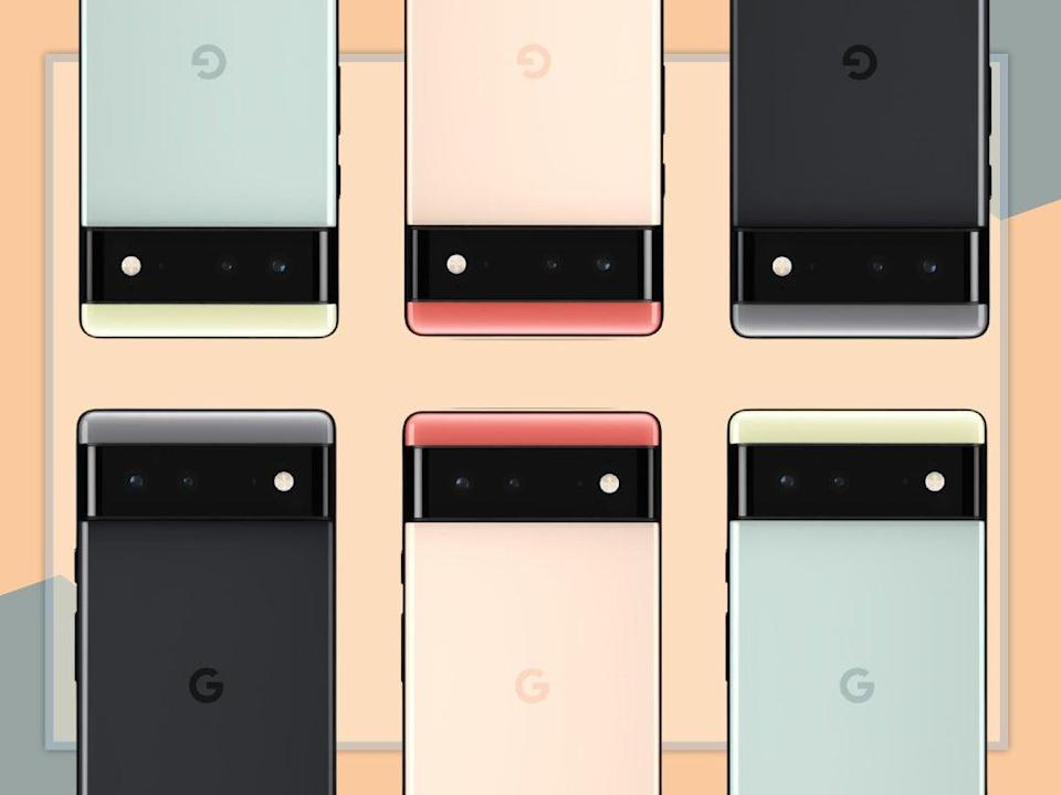 The peek we've been given suggests the smartphone has a bold new design  (The Independent)