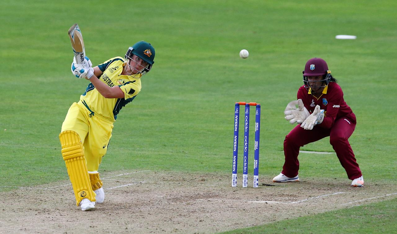 Cricket - Australia vs West Indies - Women's Cricket World Cup - The Cooper Associates County Ground, Taunton, Britain - June 26, 2017   Australia's Beth Mooney in action   Action Images via Reuters/Peter Cziborra
