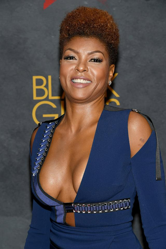 <p>Taraji P. Henson attends Black Girls Rock! 2017 in Newark, N.J. (Photo: Dia Dipasupil/Getty Images for BET) </p>