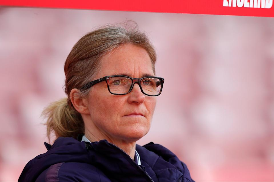 <p>Hege Riise's England have now lost back-to-back friendlies</p> (The FA via Getty Images)
