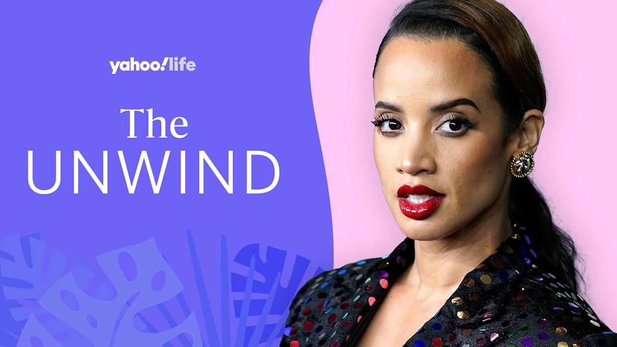 Actress Dascha Polanco talks self-care. (Photo: Getty; designed by Quinn Lemmers)