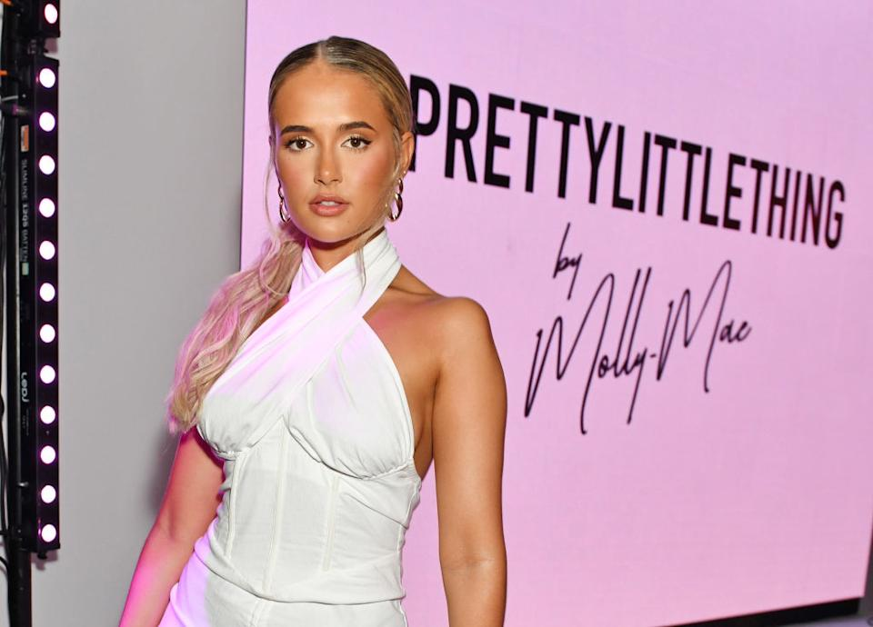 Molly-Mae Hague has urged her fans to check their bodies after having two lumps removed, pictured in August 2021. (Getty Images)