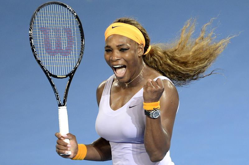Record-breaker: Serena Williams inspires on and off the tennis court (Getty Images)