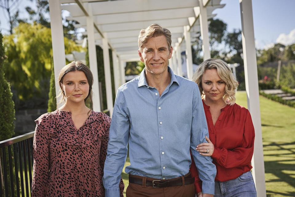 Charlie Brooks (right) stars in Lie With Me (Channel 5/FremantleMedia)
