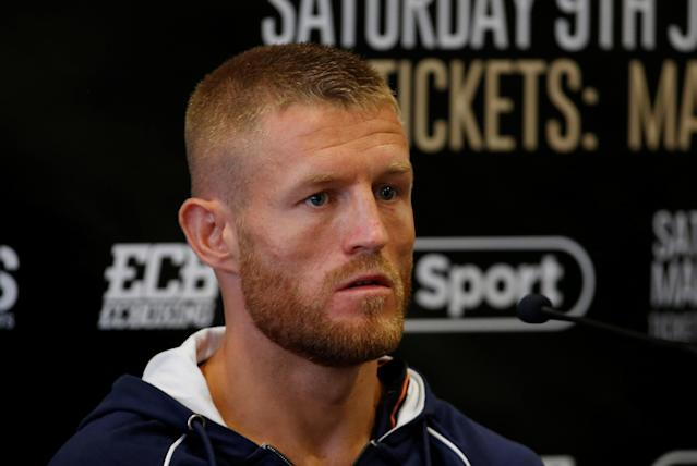 Boxing - Terry Flanagan & Maurice Hooker Press Conference - Crowne Plaza, Manchester, Britain - June 7, 2018 Terry Flanagan during the press conference Action Images via Reuters/Craig Brough
