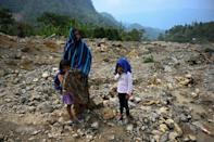 The indigenous village of Queja in Guatemala was destroyed by avalanches in November 2020