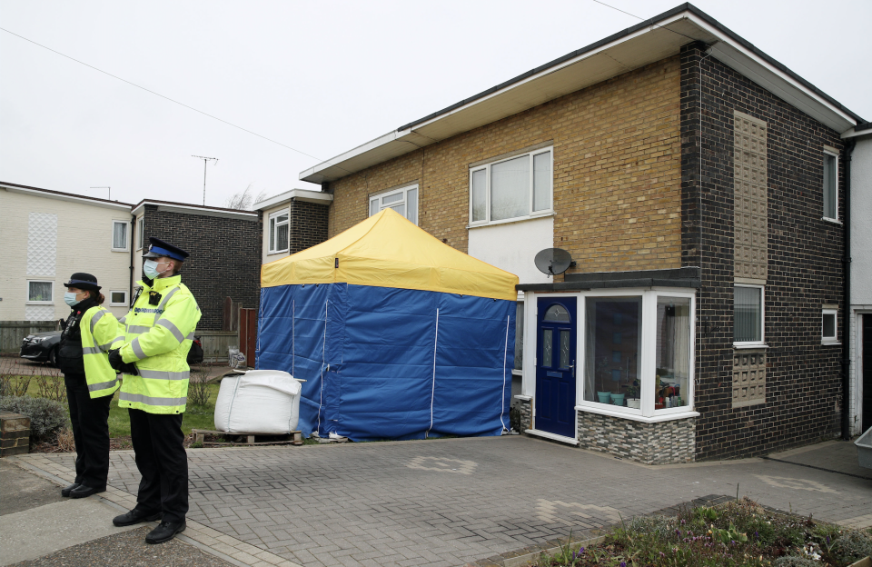 Officers searched a house in Deal, Kent. (PA)