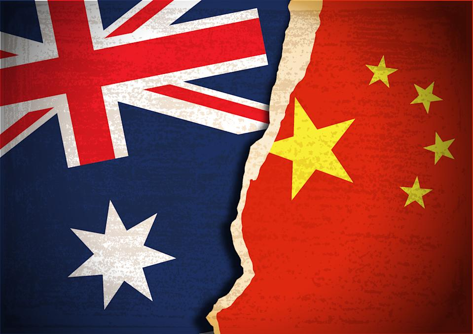 Australia's relations with China continue to deteriorate. Source: Getty