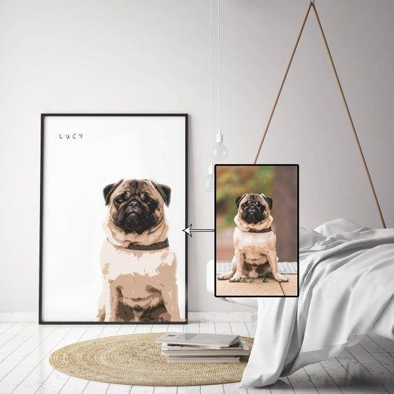 """<p><strong>gisartprint</strong></p><p>etsy.com</p><p><strong>$19.95</strong></p><p><a href=""""https://go.redirectingat.com?id=74968X1596630&url=https%3A%2F%2Fwww.etsy.com%2Flisting%2F653658234%2Fpersonalized-pet-portrait-print&sref=https%3A%2F%2Fwww.goodhousekeeping.com%2Fholidays%2Fgift-ideas%2Fg29369141%2Fbest-gifts-for-brother-in-law%2F"""" rel=""""nofollow noopener"""" target=""""_blank"""" data-ylk=""""slk:Shop Now"""" class=""""link rapid-noclick-resp"""">Shop Now</a></p><p>Send his pup's photo and name to this Etsy seller and they'll turn it's furry face into a painted masterpiece that he can hang anywhere he pleases. </p>"""
