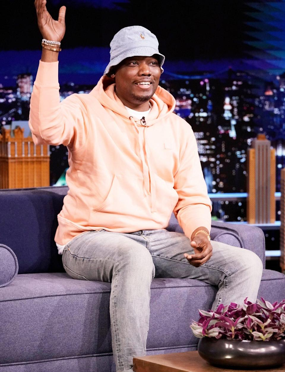 <p>Michael Che guest stars on <em>The Tonight Show Starring Jimmy Fallon</em> on Tuesday in N.Y.C.</p>