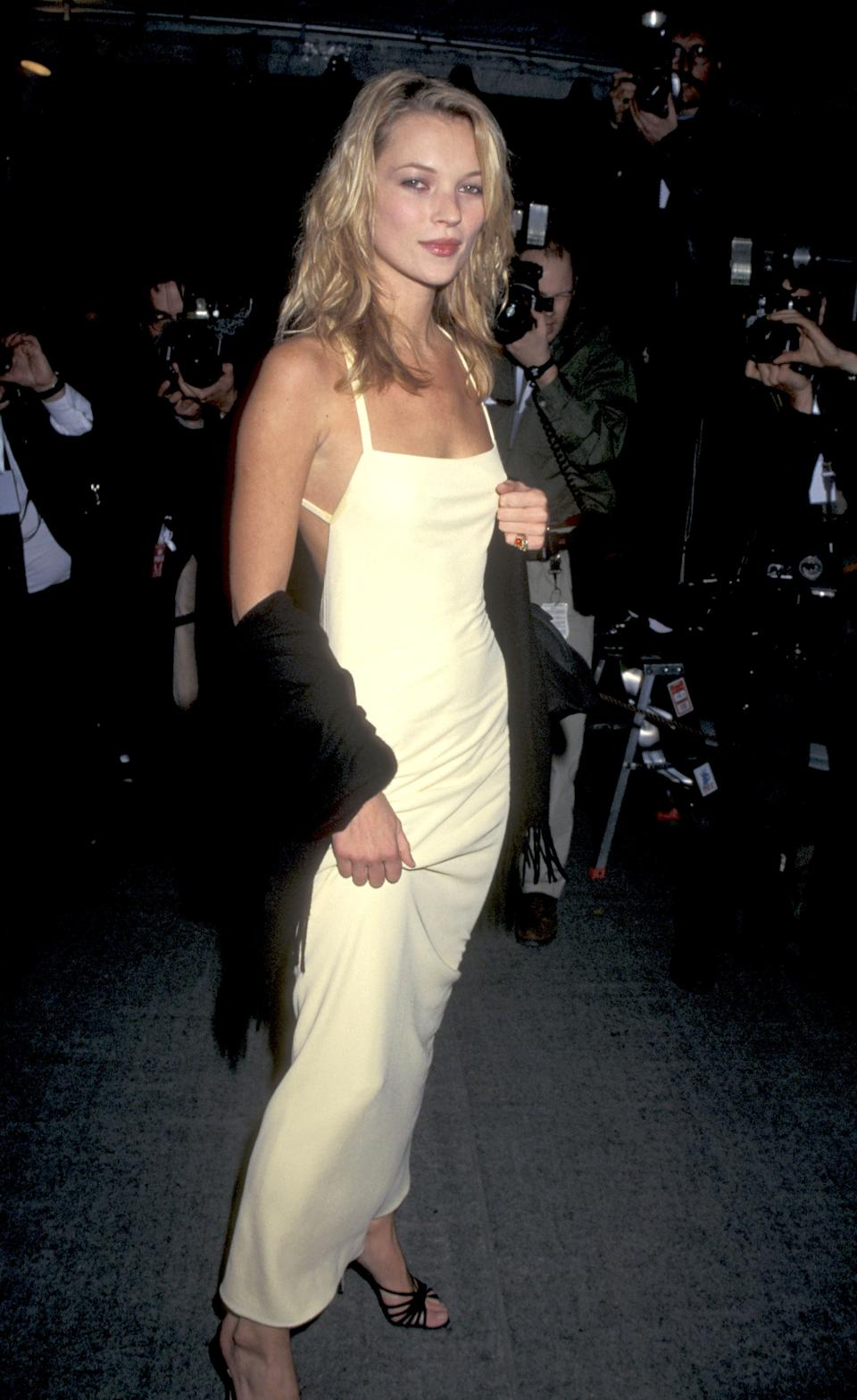 """<h1 class=""""title"""">Kate Moss in Calvin Klein, 1995</h1><cite class=""""credit"""">Photo: Getty Images</cite>"""