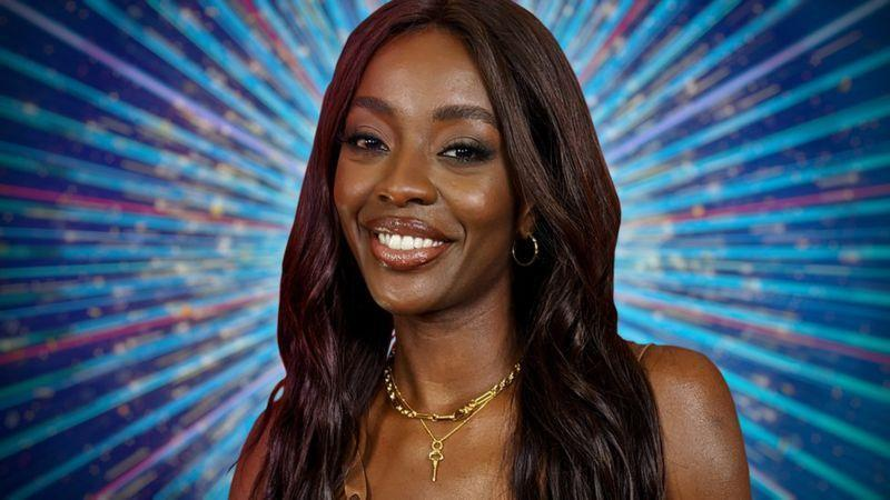 """<p><strong>Who is she? </strong>TV presenter AJ has worked on hit shows including The Voice and Big Brother's Bit on the Side. In July 2021 she also won the second season of Celebrity Karaoke Club.</p><p><strong>What's she said about Strictly? </strong> """"I am beyond chuffed that I am going to be on this year's Strictly Come Dancing and I'm so glad I can finally tell my mum. Her face will be a picture, she's going to be over the moon! I absolutely love the show and am fully committed to making the most of every second of the Strictly experience. Bring it on!""""</p>"""