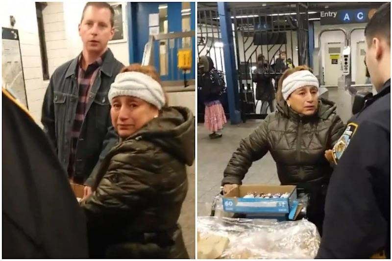 New Yorkers Outraged After Cops Handcuff 'Churro Lady' on Subway Station, Take Away Her Cart