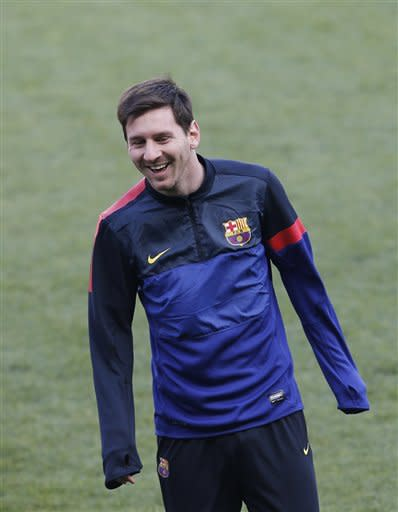 Amanecer De Verdad apoyo  Next to try and sell soccer in America: Lionel Messi