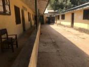 The empty Federal College of Forestry Mechanization school, following an attacked by gunmen in Afaka Nigeria, Friday March 12. 2021. Gunmen have attacked a school in northwestern Nigeria and kidnapped at least 30 students just weeks after a similar attack in the region, authorities said Friday. (AP Photo)