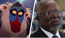 <p>We all remember Rafiki as the wise old mandrill who holds Simba out over Pride Rock… and in the upcoming live action 'Lion King' he's going to be played by John Kani. A South African writer, director, and playwrite, John Kani recently starred in an equally-wise role as T'Chaka – the father of Black Panther in Marvel's 'Captain America: Civil War'. He'll be reprising that role in the upcoming 'Black Panther' movie. </p>