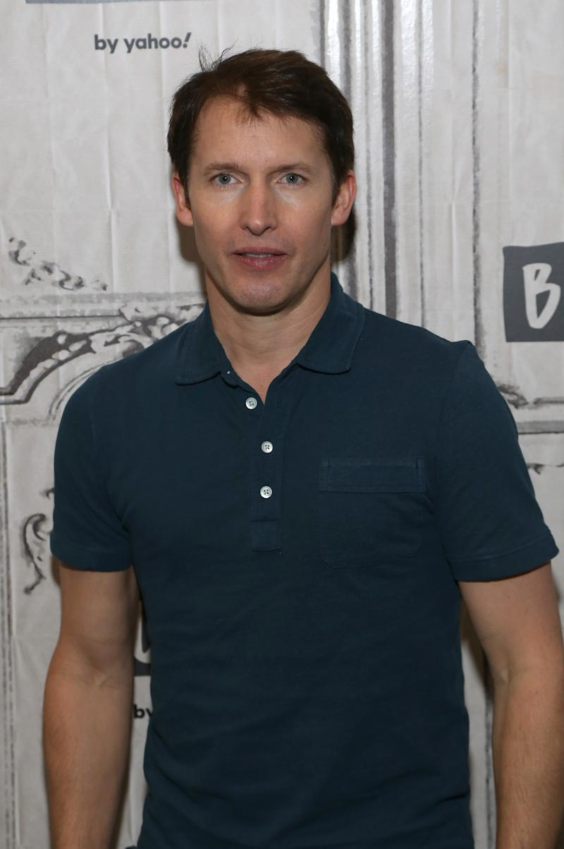 "James Blunt visits Build Series to discuss his new album ""Once Upon a Mind"" at Build Studio on November 13, 2019 in New York City. (Photo by Manny Carabel/Getty Images)"