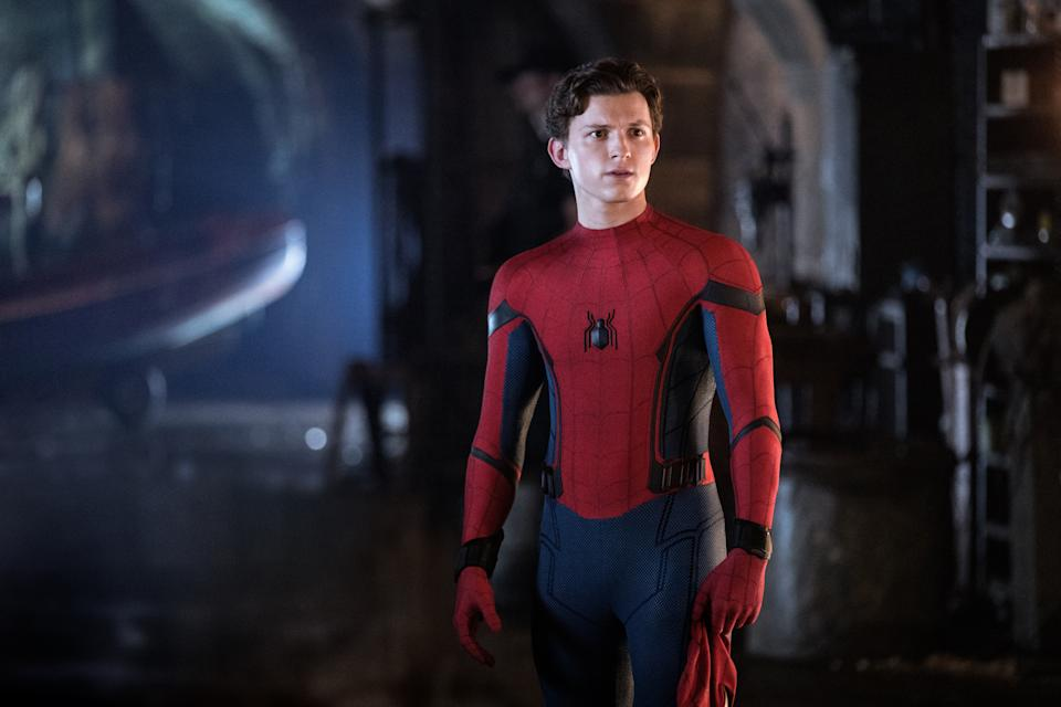 """Tom Holland is Spider-Man in Columbia Pictures' SPIDER-MAN: Far From Home"""""""