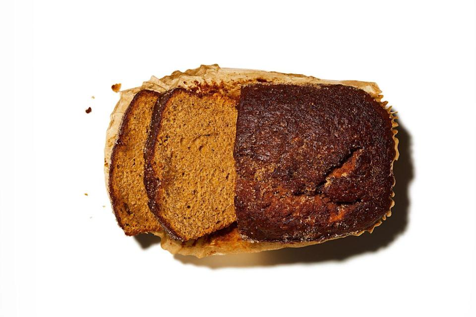"""<p>The lockdown staple is good for long days on the trails, but less so when you're shut indoors. Over-ripe bananas contain more simple sugars and less gut-healthy starch than greener ones. It's a cake, not a loaf. """"It'll spike your blood glucose and insulin levels,"""" says Anyia.</p>"""