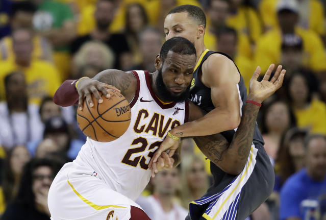 LeBron James is making a bold move to L.A. (AP)