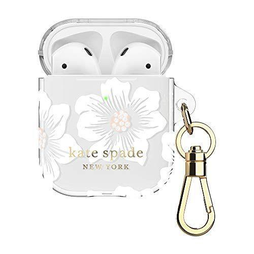 """<p><strong>Kate Spade New York</strong></p><p>amazon.com</p><p><strong>$34.99</strong></p><p><a href=""""https://www.amazon.com/dp/B07YQGTBDZ?tag=syn-yahoo-20&ascsubtag=%5Bartid%7C2141.g.29518657%5Bsrc%7Cyahoo-us"""" rel=""""nofollow noopener"""" target=""""_blank"""" data-ylk=""""slk:Shop Now"""" class=""""link rapid-noclick-resp"""">Shop Now</a></p><p>We get it: those Airpods you bought her for her birthday don't come cheap. Thankfully, this cute case won't make her object to protecting them! Fitting easily over the case, this cover acts as a buffer for accidental drops, but isn't too thick to interfere with wireless charging.</p>"""