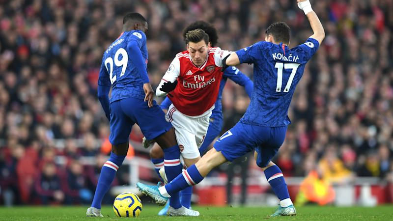 Arteta not surprised by 'willing' Ozil's energy
