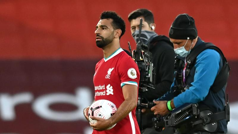 Klopp congratulates 'special' Salah after Anfield hat-trick in Leeds thriller