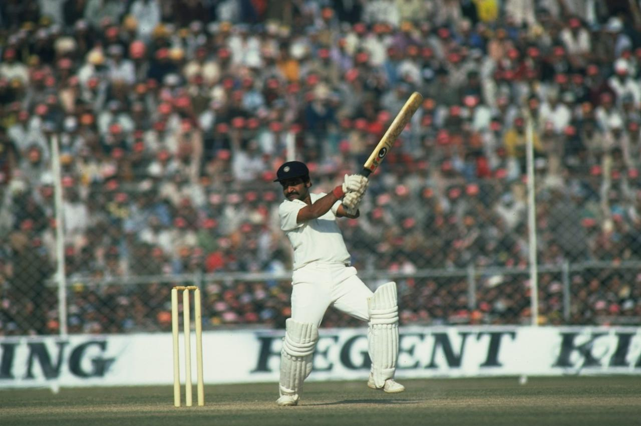 India - 406 for 4 vs West Indies at Port of Spain in April 1976. West Indies 359 (Viv Richards 177, Clive Lloyd 68, BS Chandrasekhar 6-120, BS Bedi 4-73) and 271-6 declared (Alvin Kallicharan 103*, Clive Lloyd 36, S Venkataraghavan 3-65, BS Chandrasekhar 2-88) LOST TO India 228 (Madan Lal 42, GR Viswanath 41, Michael Holding 6-65, Imtiaz Ali 2-37) and 406-4 (GR Viswanath 112*, Sunil Gavaskar 102, Mohinder Amarnath 85, RR Jumadeen 2-70). India chase down a target in excess of 400 to win the Test, a feat accomplished only once before - by Australia against England in 1948.