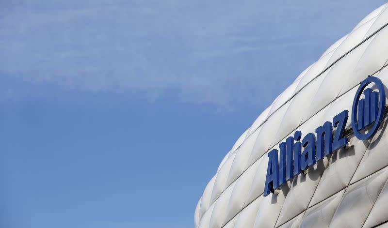 File photo of the logo of Allianz SE in Munich