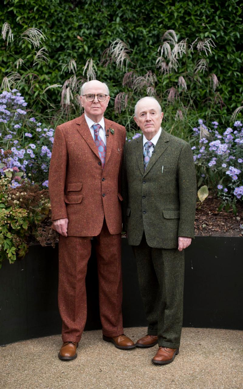 Gilbert and George - Credit: Paul Grover