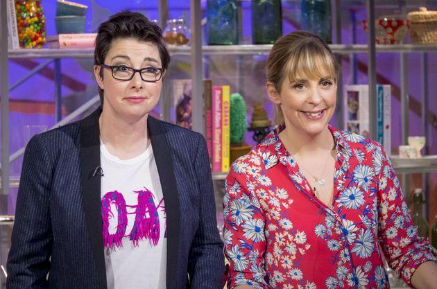 Mel and Sue on their short-lived ITV daytime show in 2015 (Photo: S Meddle/ITV/Shutterstock)