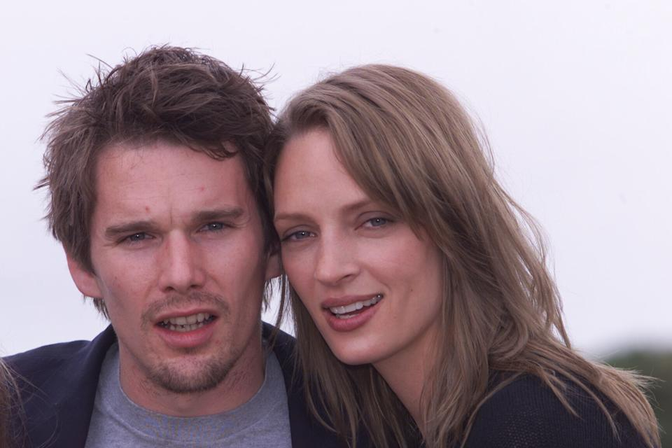 Ethan Hawke et Uma Thurman (Photo by Dave Hogan/Getty Images)