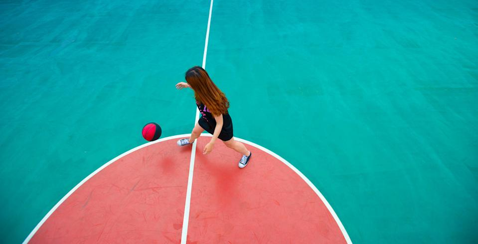 Representational: A basketball game in which Zhang Ziyu was playing has gone viral (Getty Images/iStockphoto)