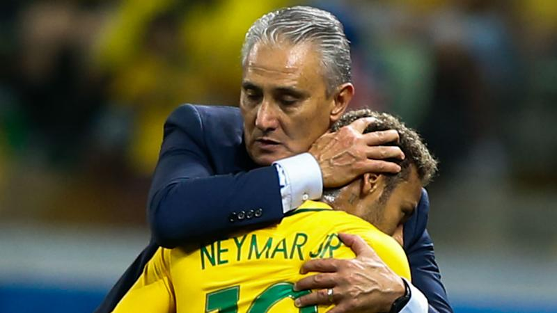 Tite hails Brazil for learning to play without Neymar