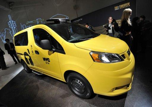 Nissan has been chosen to replace all 13,000 New York taxis with its modified commercial vans