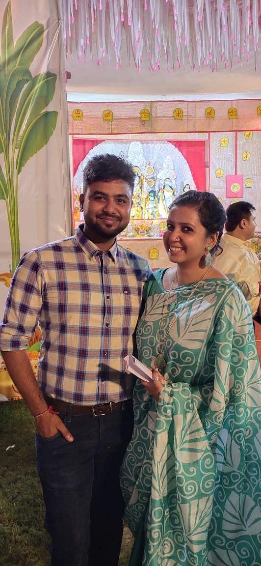 Upasika and Sandeep have since spent every Pujo together.