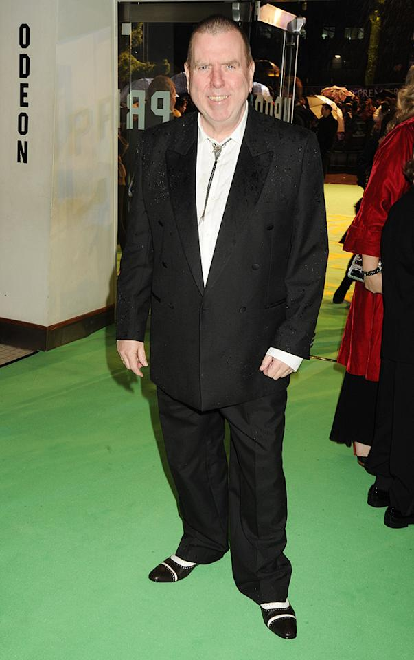 "<a href=""http://movies.yahoo.com/movie/contributor/1800019400"">Timothy Spall</a> at the London premiere of <a href=""http://movies.yahoo.com/movie/1810078365/info"">Alice in Wonderland</a> - 02/25/2010"