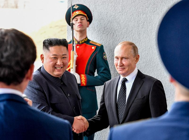 North Korean leader Kim Jong Un and Russian President Vladimir Putin vowed to seek closer ties at their summit in Vladivostok