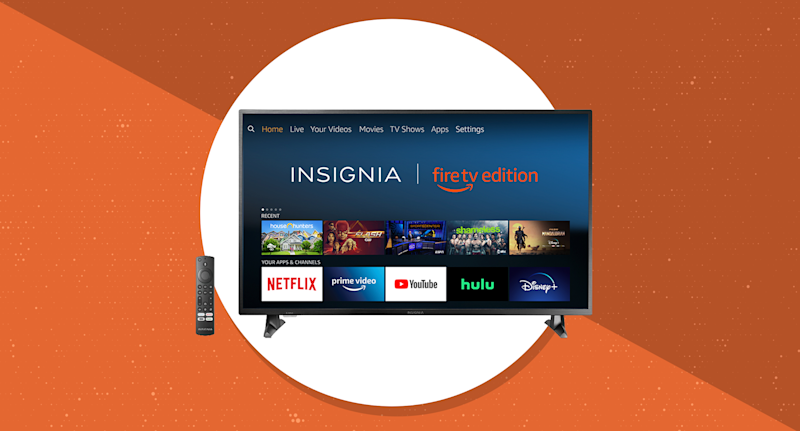 Save 33 percent on this TV bestseller and get a free Echo Dot too. (Photo: Amazon)