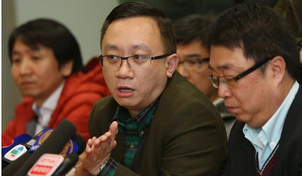 Francis Fong (centre) said the incident was a PR disaster. Photo: Xiaomei Chen