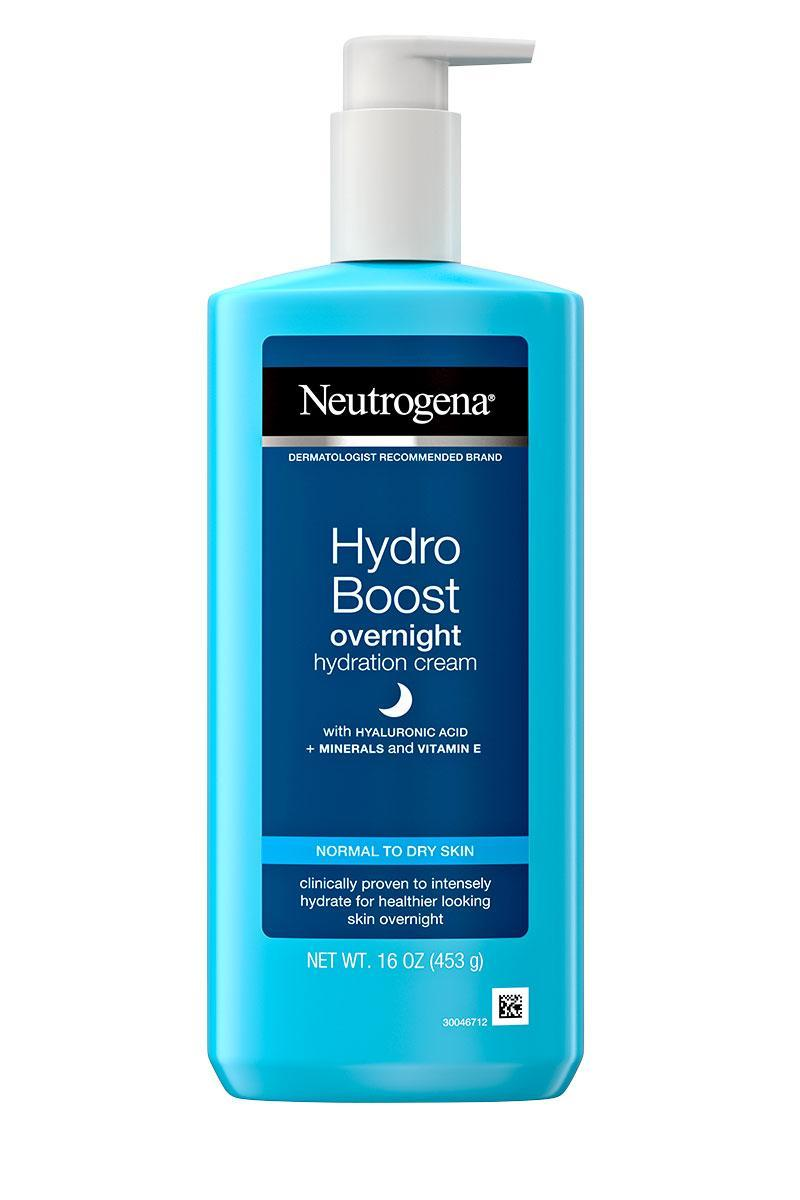 """<p>This unique formula has the lightweight texture of a gel with all the hydration of a rich cream. <a href=""""http://www.people.com/tag/kerry-washington"""" rel=""""nofollow noopener"""" target=""""_blank"""" data-ylk=""""slk:Kerry Washington"""" class=""""link rapid-noclick-resp"""">Kerry Washington</a> is a big fan of the formula, too. """"This cream has been a game-changer for my eczema,"""" says Washington, who calls its star ingredient, hyaluronic acid, """"magic.""""</p> <p><strong>Buy It! </strong><a href=""""https://goto.walmart.com/c/249354/565706/9383?subId1=PEOTheBestOvernightBeautyProductsforHairandSkinkfrey1271StyGal12594058202102I&u=https%3A%2F%2Fwww.walmart.com%2Fip%2FNeutrogena-Hydro-Boost-Night-Gel-Cream-with-Hyaluronic-Acid-16-oz%2F572381405"""" rel=""""nofollow noopener"""" target=""""_blank"""" data-ylk=""""slk:Neutrogena Hydro Boost Night Gel Cream with Hyaluronic Acid, $8.93; walmart.com"""" class=""""link rapid-noclick-resp"""">Neutrogena Hydro Boost Night Gel Cream with Hyaluronic Acid, $8.93; walmart.com</a></p>"""