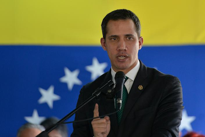The Venezuelan National Assembly declared opposition leader Juan Guaidó acting president of Venezuela in January 2019. The U.S. recognized him as the country's new leader despite President Nicolás Maduro's hold on power. (Photo: ASSOCIATED PRESS)