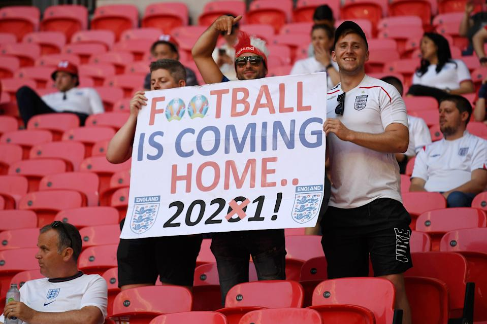 England fans at Wembley (Getty Images)