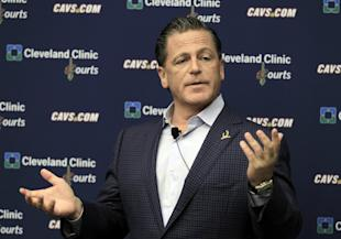 Cavaliers owner Dan Gilbert regretted writing his infamous letter criticizing LeBron James four years ago. (AP)
