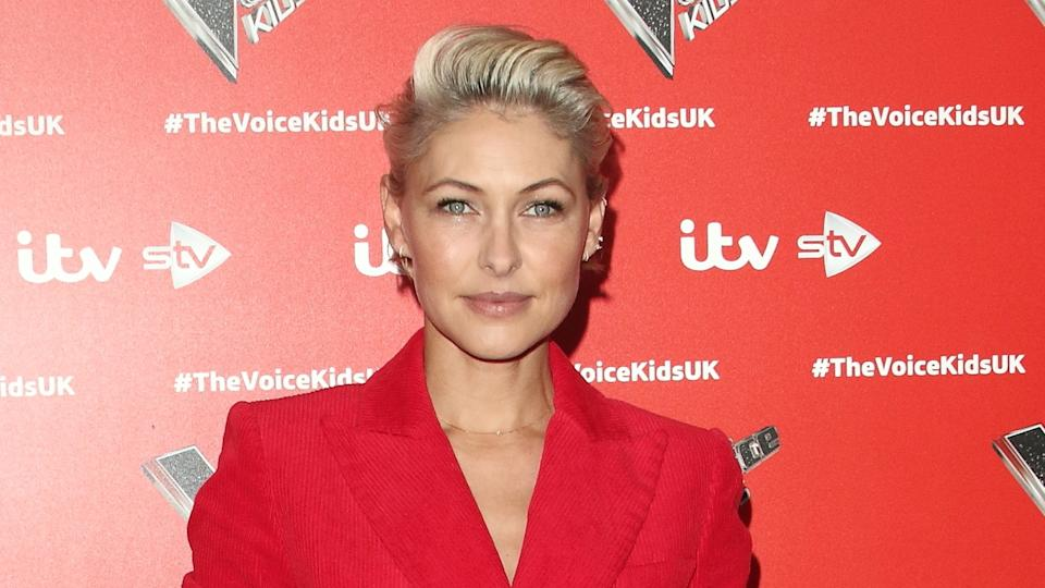 Emma Willis priased her son for picking colourful outfits. (Keith Mayhew / SOPA Images/Sipa USA)