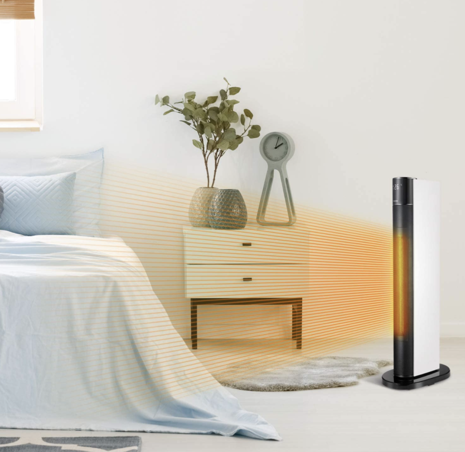 Perfect for placing right next to your bed. (Photo: Amazon)
