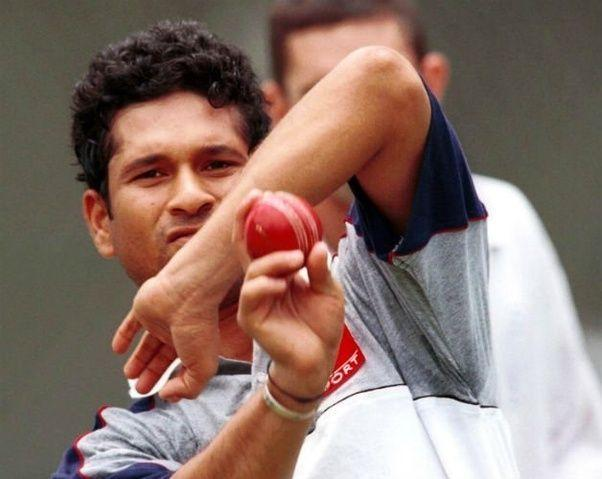 Sachin took his first ODI wicket in 1990