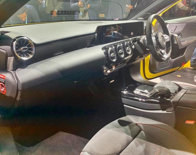 The interiors are even more stunning with those propeller-like air vents, the sci-fi instrument cluster, and the large screen. The quality is top-notch, as you would expect from Mercedes.