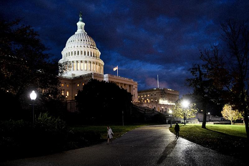 Operations for several key agencies will cease in the early hours of Saturday, despite last-ditch talks that continued on Capitol Hill (AFP Photo/Brendan Smialowski)