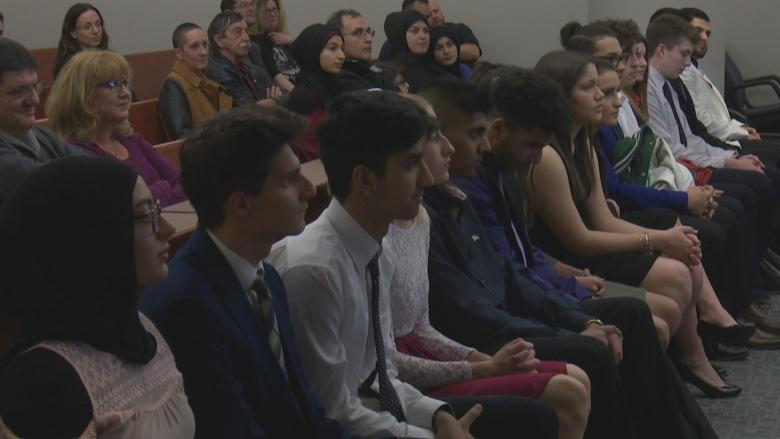 Students see what it takes to join the Windsor police force